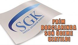 GSS ve SGK prim borçlarında son ödeme uzatıldı