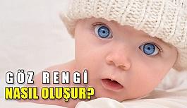 Bebeklerin göz rengi nasıl oluşur?