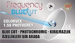 Fotokromik ve Blue Cut Teknolojisinin Birleştiği 1.58 ASP Colorvex Blue Cut Cam