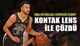 NBA Oyuncusu Stephen Curry Sorununu Kontak Lens İle Çözdü
