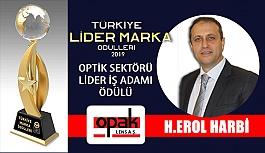 2019 Optik Sektörü Lider İş adamı Ödülü Erol Harbi'ye Verilecek