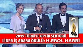 2019 Türkiye Optik Sektörü Lider İş Adamı Ödülü: Erol Harbi