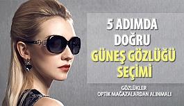 Doğru Güneş Gözlüğü Seçmek İçin 5 Adım