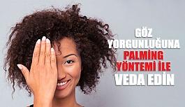 Göz Yorgunluğuna Palming Yöntemi ile Veda Edin