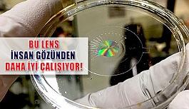 İnsan Gözünden Daha İyi Çalışan Elektronik Lensler Geliştirildi