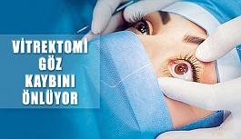 Vitrektomi İle Kalıcı Göz Kaybının Önüne Geçiliyor