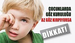 Çocuğunuz Daha Az Göz Kırpıyorsa Göz Kuruluğuna Dikkat