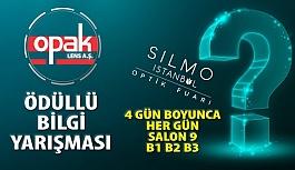 Opak Lens, 2019 SİLMO Optik Fuarı'nda Hediyeli Bilgi Yarışması Düzenliyor!