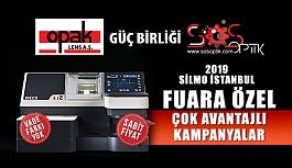 Opak Lens'ten Silmoİstanbul 2019 Fuarına Özel Kampanyalar