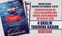 Opak Lens'in Silmoİstanbul 2019 Fuarına Özel Kampanyaları Uzatıldı