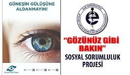 Ege Üniversitesi Optisyenlik Bölümü Sosyal Sorumluluk Projesi