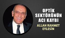 Gözde Optik Ortağı Mustafa Küreli Vefat Etmiştir.