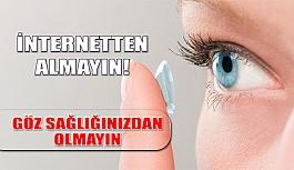 İnternetten Kontak Lens Alarak Göz Sağlığınızdan olmayın
