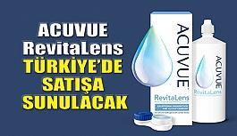 Kontak Lens Solüsyonu Acuvue Revitalens Türkiye'de Satış Sunulacak