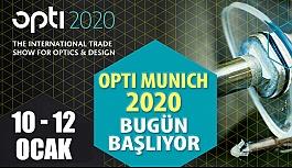 Opti Münih 2020 Bugün Başlıyor