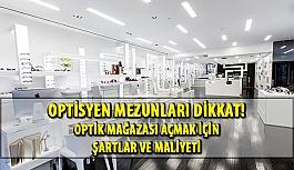 Optik Mağazası Açmak için Gerekli Şartlar ve Maliyeti