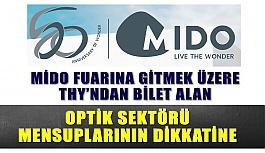 Mido2020 İçin THY'ndan Bilet Alan Optik Sektörü Mensuplarının Dikkatine