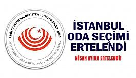 İstanbul Oda Seçimleri Ertelendi