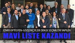 İzmir Optisyenler-Gözlükçüler Odası Seçimini Mavi Liste Kazandı
