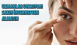 İnternetten Alınan Lensler Göz Sağlığını Bozabilir!