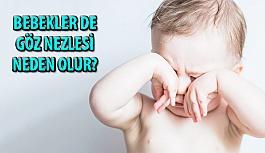 Bebekler de Göz Nezlesi Neden Olur?