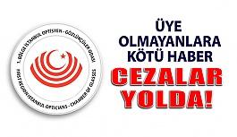 İstanbul Odası Üye Olmayanlara Ceza Göndermeye Başladı