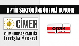 Opak Lens Maske Satışı Konusunda Cimer'e Başvurdu