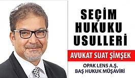 Seçim Hukuku Usulleri Avukat Suat Şimşek