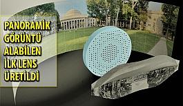 180 Derece Panoramik Görüntü Alabilen İlk Düz Lensler Üretildi!