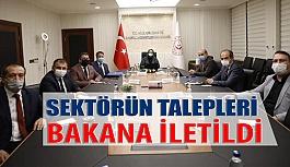 Bakan Selçuk, Türk Optisyen-Gözlükçüler Birliği yönetimi ile görüştü