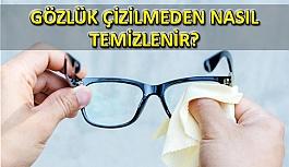 Gözlük Silmenin Püf Noktaları