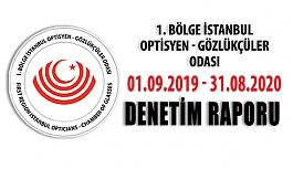 İstanbul Optisyen - Gözlükçüler Odası Denetim Raporu Yayınlandı