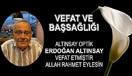 Erdoğan Altınsay Vefat Etmiştir