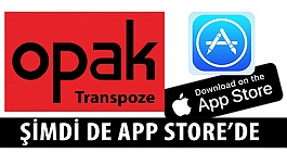 Opak Transpoze Uygulaması App Store'de
