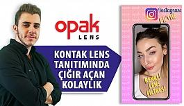 Opak Lens'ten Renkli Lens Tanıtımında Çığır Açan Uygulama