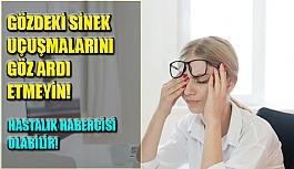 Gözdeki Sinek Uçuşmalarını Göz Ardı Etmeyin! Hastalık Habercisi Olabilir