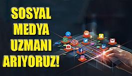 Sosyal Medya Uzmanı Arıyoruz!