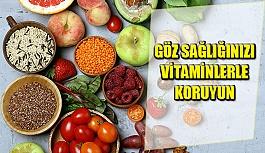 Göz Sağlığınızı Vitaminlerle Koruyun
