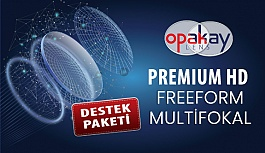 Opak Lens'ten FreeForm Multifokal Cam Destek Paketi
