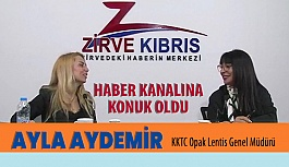 Opak Lentis Genel Müdürü Ayla Aydemir Haber Kanalına Konuk Oldu