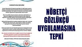Nöbetçi Gözlükçü Uygulamasına İstanbul Odasından Tepki