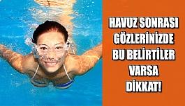 Havuz Sonrası Gözlerinizde Bu Belirtiler Varsa Dikkat!