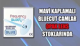 Mavi Kaplamalı Bluecut Camlar  Opak Lens Stoklarında