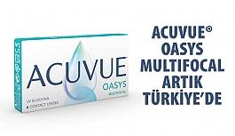 ACUVUE® OASYS MULTIFOCAL Türkiye'de Satışa Sunuldu