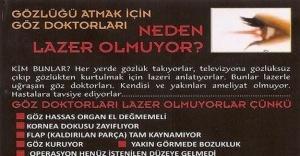 Göz Doktorları Neden Lazer Ameliyatı...