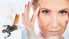 Sigara göz sağlığınız için büyük...