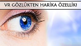 VR gözlük ile göz tansiyonu ölçmek...