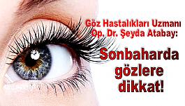 Göz Hastalıkları Uzmanı Op. Dr. Atabay:...