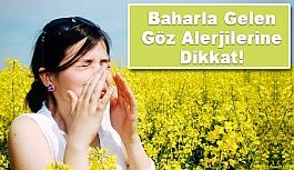 Bahar aylarında sık görülen göz alerjileri...