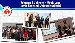 Johnson & Johnson - Opak Lens İzmir Ekonomi Üniversitesi'nde!